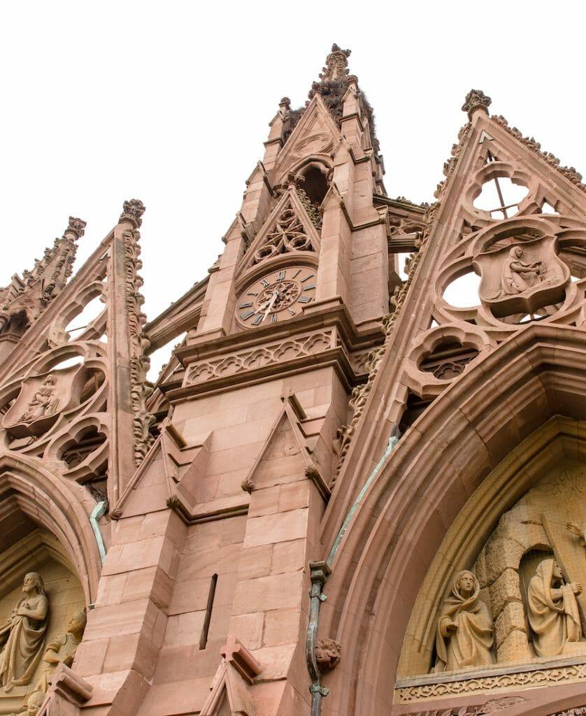 entrance arches